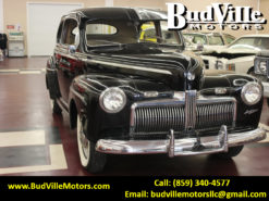 Best Used 1942 Ford Super Deluxe Sedan Classic Car for Sale in Paris Bourbon County KY 40361 Budville Motors Central Kentucky Classic Cars Trucks
