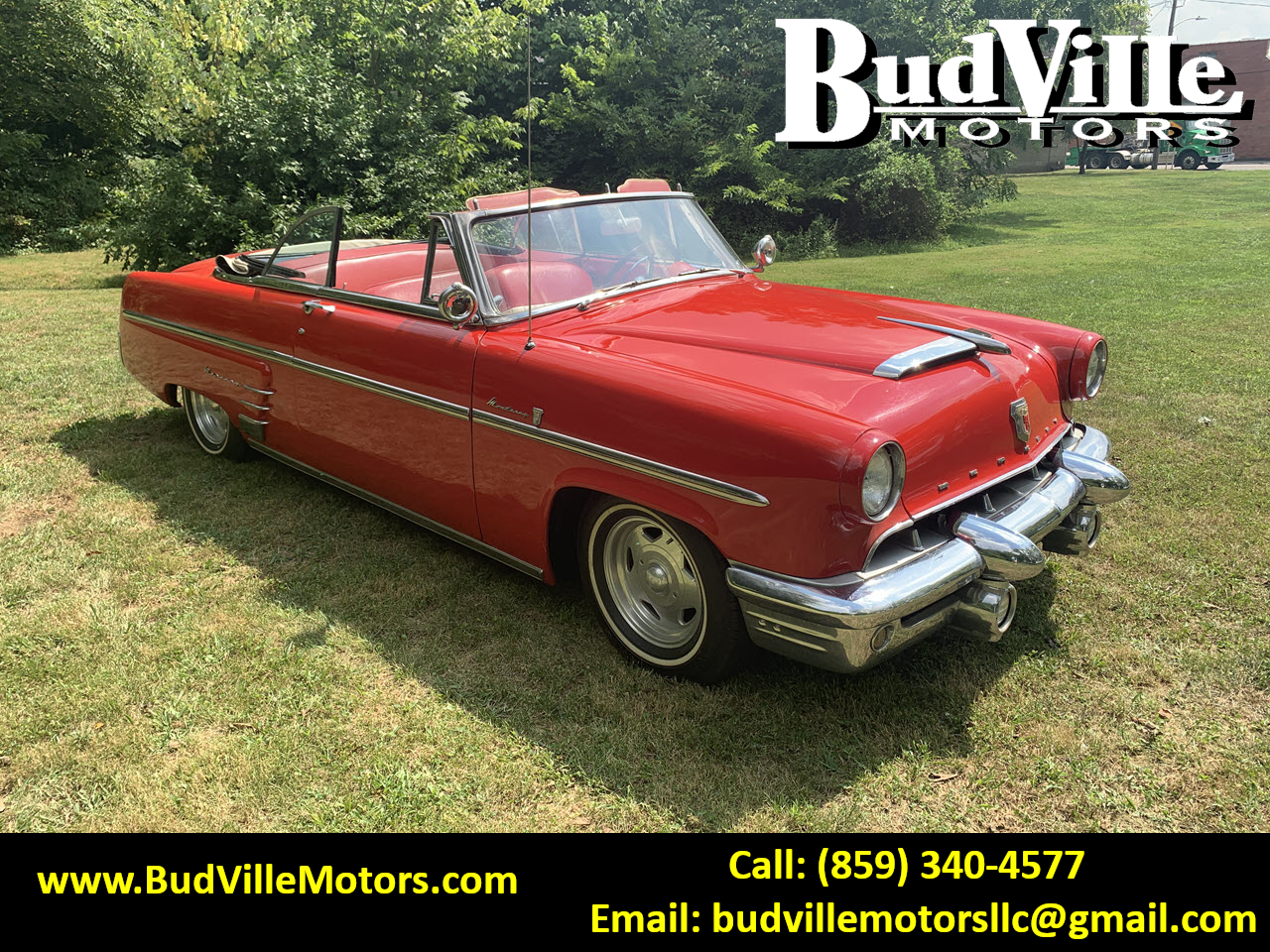 Best Used 1953 Mercury Monterey Convertible Classic Car for Sale in Paris Bourbon County KY 40361 Budville Motors Central Kentucky Classic Cars Trucks