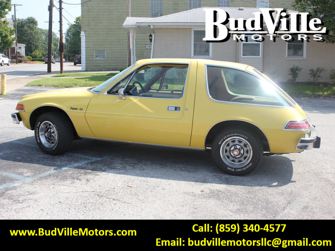 Best Used 1978 AMC Pacer D/L 401 V8 Classic Car for Sale Paris KY 40361 Budville Motors Central Kentucky Classic Cars Trucks Wayne's World Mike Myers