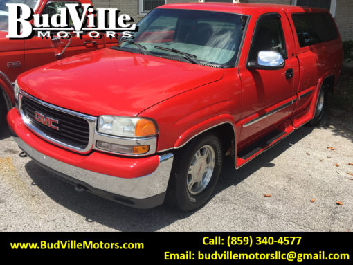 Best Used 1999 GMC Sierra PIckup Truck for Sale in Paris Bourbon County KY 40361 Budville Motors Central Kentucky Classic Cars Trucks